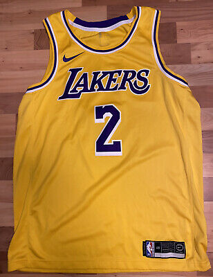 Los Angeles Lakers Nike Association Swingman Jersey - Lonzo Ball - Mann