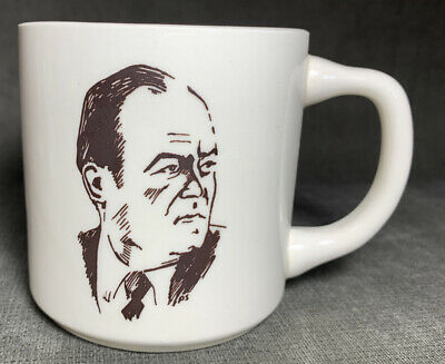 Vintage 1978 Hubert Humphrey Dinner St. Paul Civic Center St. Paul MN Coffee Cup