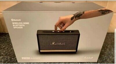 Brand New Marshall Action II Bluetooth Speaker, Euro Plus. Posting In UK Only.