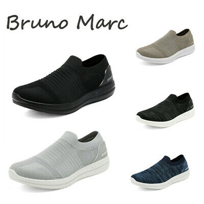 Men's Mesh Casual Loafer Shoes Lightweight Slip On Sneakers Walking Shoes