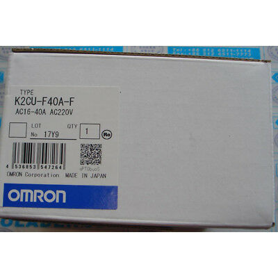 1pc New Omron K2CU-F40A-F Heater Fault Detector