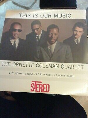 The ornette Coleman quartet lp this is our music