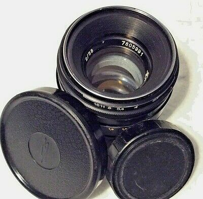 Helios 44-2 2/58 f/2 58mm USSR Prime Camera Lens Fits M42 Mount