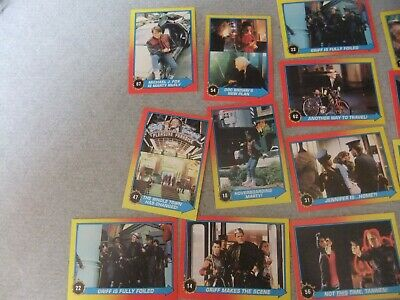 19 Back To The Future 2 Topps cards