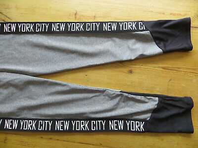 girls age 10/11 track bottoms new york city used good cond