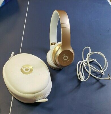Beats Solo 2 Wireless Gold excellent condition!