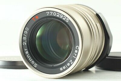 【TOP MINT】 Contax Carl Zeiss Sonnar T* 90mm F/2.8 Lens For G1 G2 From JAPAN 292