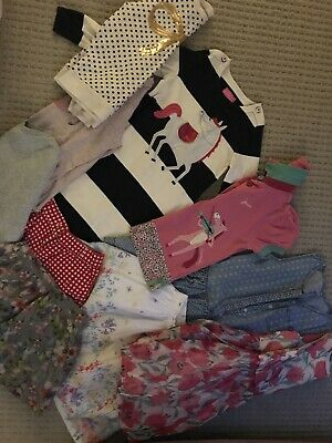 Lovely Bundle Of Girls Clothes age 5-6 inc. Joules, White Company, Next Etc