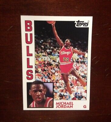 1992-93 Topps Archives Michael Jordan 1984 Style Rookie Card #52 Bulls.