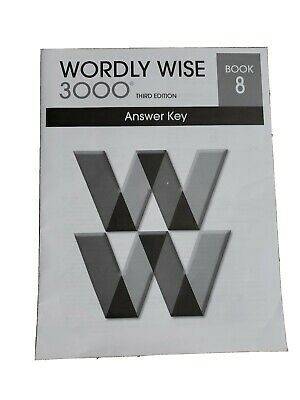 Wordly Wise 3000 Book 8 Answer Key