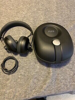 Nuraphone Nura Wireless Bluetooth Headphones with Case + USB Audio/Charge Cable