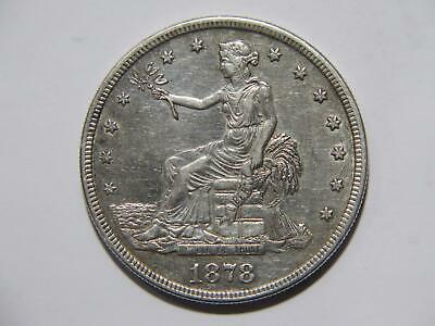 Trade Dollar 1878 S T$1 90% Silver Low Grade U.s. Mint Type Coin 🌈⭐🌈