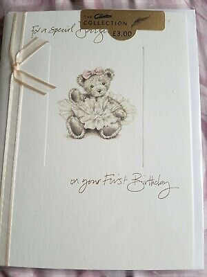 'Special Daughter First Birthday'  Card