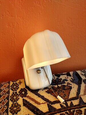 Antique Art Deco Kitchen Bathroom Light Fixture - Sconce
