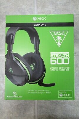 Turtle Beach Stealth 600 Black and Green Headsets for Microsoft Xbox One