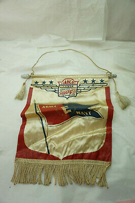 Vintage Wwii War Effort Flag Army Navy E Progress Cooperation Homefront Ww2