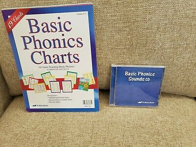 Abeka A BEKA Basic Phonics Chart and Basic Phonics Sounds CD set