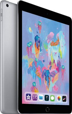 NEW Sealed Apple iPad 6th Gen. 128GB, Wi-Fi, 9.7in - Space Gray MR7J2LL/A