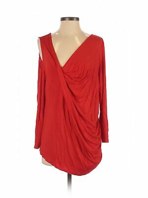 Assorted Brands Women Red Long Sleeve Top 2