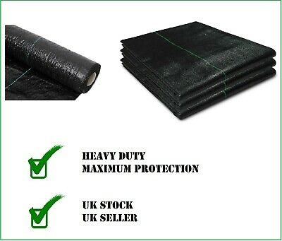 Heavy Duty 1m width Garden Weed Control Fabric Landscape Ground Cover Membrane