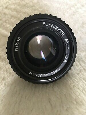 Nikon EL - Nikkor 63mm 2.8 Enlarging Lens
