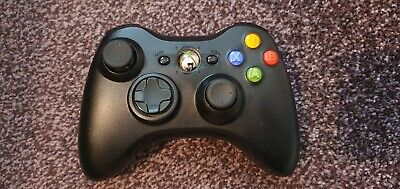 Microsoft Official Xbox 360 Wireless Controller. Cleaned, Tested.