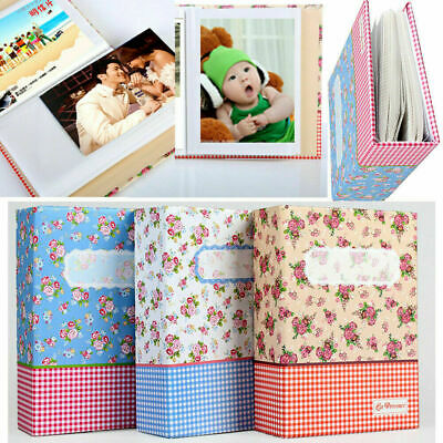 4R 6 Inch 100-Pocket Picture Album Case Photo Storage Baby Wedding Family Memory