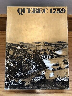 Vintage Quebec 1759 Gamma Two Board Game 1975 Complete!