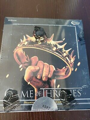 2013 Rittenhouse Game of Thrones Season 2 Trading Cards Hobby Box FACTORY SEALED