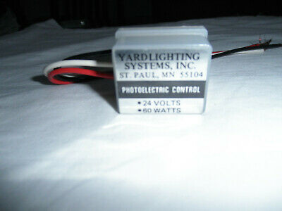 Yardlighting Photelectric control - 24V Photo Cell