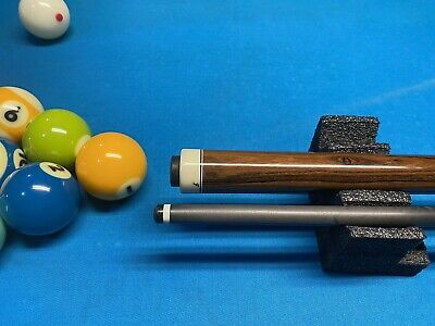 Bob Frey Custom Fullsplice Bacote Pool Cue Sneaky Pete W/ CARBON FIBER SHAFT