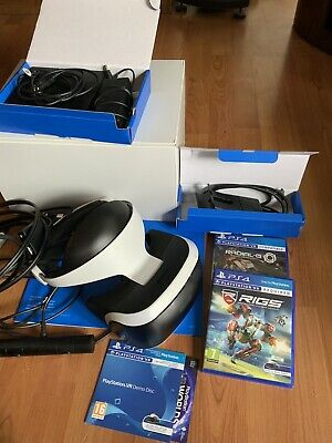 USED PLAYSTATION PS VR Headset and camera (NO GAME CODE