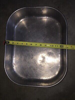 Vollrath 68251 Aluminum Roasting Pan Handles 12 3/4 X 16 1/2 Commercial USA MADE