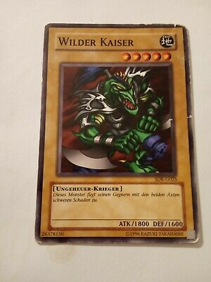 Auflage! Near Mint Wilder Kobold SS01-DEA02 YUGIOH! Common 1