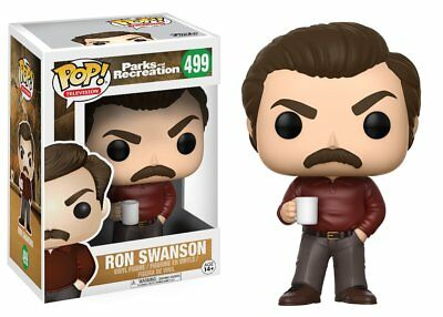 Parks And Rec - Ron Swanson - Funko Pop - Brand New - Tv Series 13036