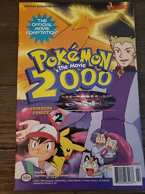 Pokemon 2000 The Movie The Power Of One 3 Viz Comic 4 00