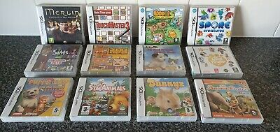 Collection Bundle Of Nintendo Ds Games All Boxed