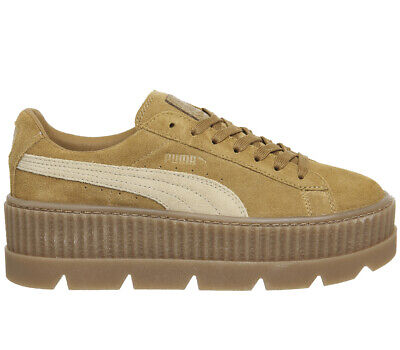 PUMA FENTY RIHANNA Cleated Creeper Lace Up Suede Womens