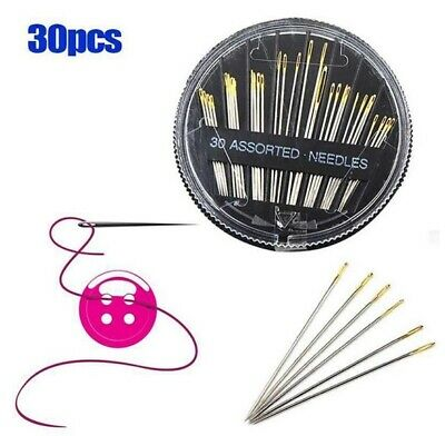 Assorted Needles Hand Sewing Embroidery Mending Craft Quilt Sewing 30pcs
