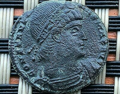 Constantine I The Great 308-337 Ad Ae Follis Roman Legions  Constantinople Mint