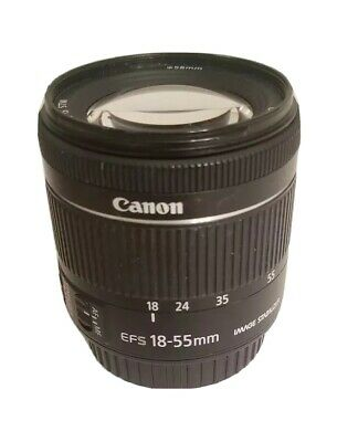 Canon Zoom Lens EF-S 18-55mm 1:4-5.6 IS STM
