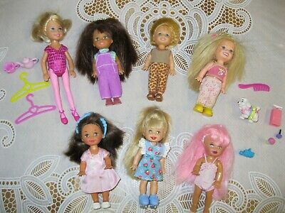NG Creations Little Sister Felt Pattern #PP-81 fits Kelly /& Tommy Dolls Barbie