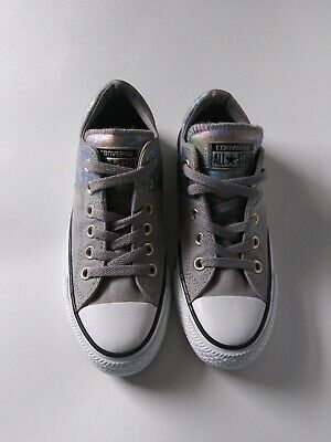 NEW WOMENS CONVERSE All Star Madison Ox 550828F Ash Grey