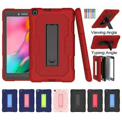 For Samsung Galaxy Tab A 8.0 SM-T290 Tablet TPU Heavy Duty Hard Stand Case Cover