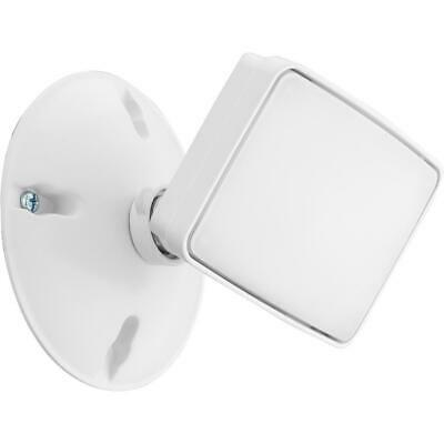 White Outdoor Integrated LED Square Single Head Wall Mount Flood Light