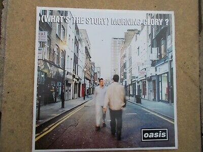 Oasis-(What's The Story) Morning Glory ?-Sony Music Cre Lp 189 (All Ex )
