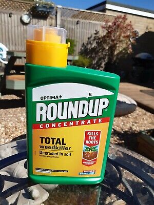 Roundup Optima + plus Total Weedkiller 1L concentrate New sealed quick dispatch