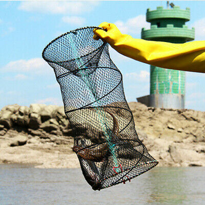 5 x DELUX LOBSTER CRAB CRAYFISH BAIT FISH LIVE TRAP CAGE POT BOAT SEA FISHING