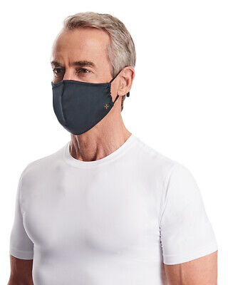 Tommie Copper Face Masks - Unisex 2-Pack Adjustable Covering Anti-Microbial Mask