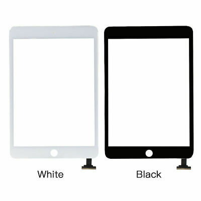 For iPad 2 3 4 Air 1 Mini 1 2 3 Pro Digitizer Glass Touch Screen Replacement b/w